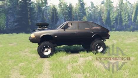 Москвич 2141 Варан для Spin Tires