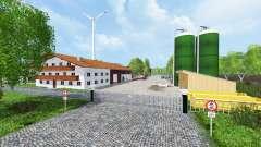 Unna district v2.1 для Farming Simulator 2015