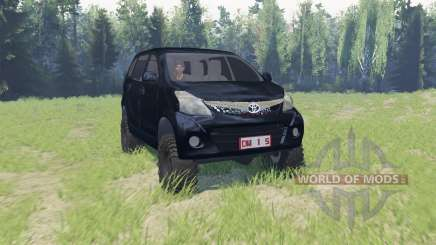 Toyota Avanza для Spin Tires