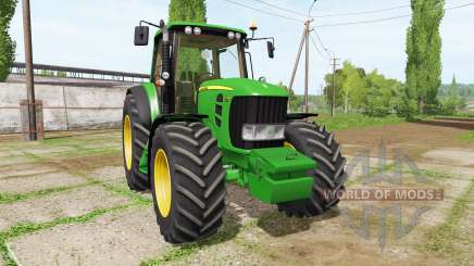John Deere 7530 v2.5 для Farming Simulator 2017