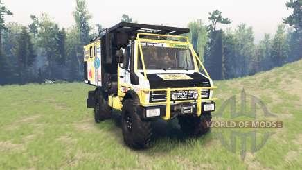 Mercedes-Benz Unimog U1650 Dakar для Spin Tires