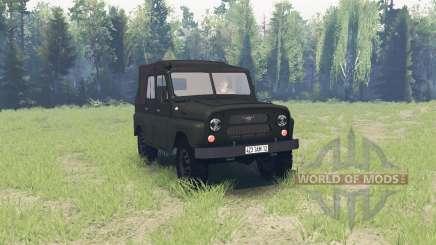 УАЗ 469 1971 для Spin Tires