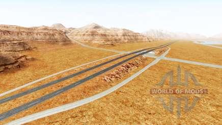 Interstate highway для BeamNG Drive