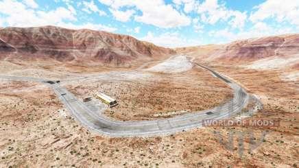 Crimson valley для BeamNG Drive