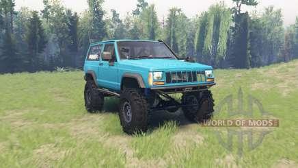 Jeep Cherokee (XJ) 1990 для Spin Tires