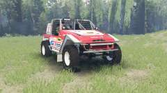 Toyota Land Cruiser (FJ40) Serigala Militia