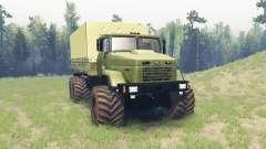 КрАЗ 6322 v3.1 для Spin Tires