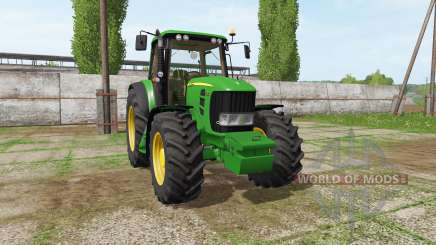 John Deere 7530 Premium v3.0 для Farming Simulator 2017