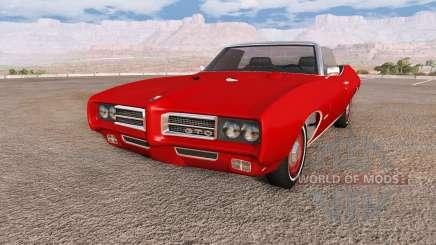 Pontiac GTO 1969 для BeamNG Drive