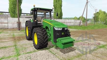 John Deere 8245R для Farming Simulator 2017