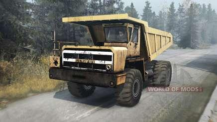 БелАЗ 540 v1.1 для Spin Tires