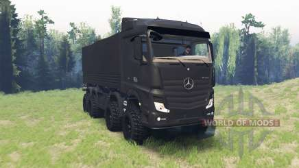 Mercedes-Benz Actros (MP4) chassis для Spin Tires