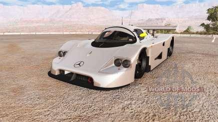 Sauber Mercedes-Benz C9 для BeamNG Drive