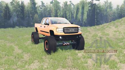 GMC Sierra (GMT900) BigFoot для Spin Tires