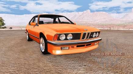 BMW M635 CSi (E24) v2.0 для BeamNG Drive