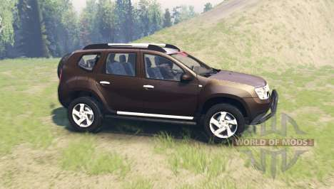 Dacia Duster для Spin Tires