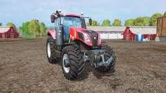 New Holland T8.435 red power для Farming Simulator 2015