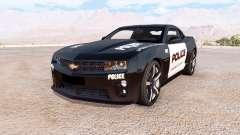 Chevrolet Camaro ZL1 Police для BeamNG Drive