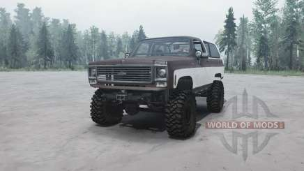 Chevrolet K5 Blazer для MudRunner