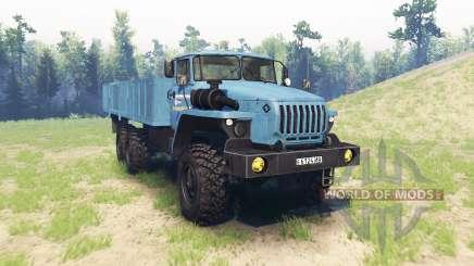Урал 4320 v2.0 для Spin Tires