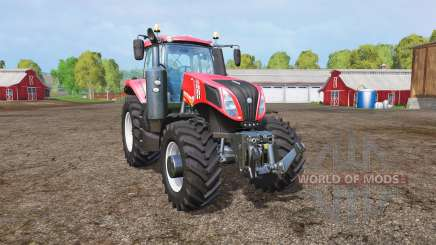 New Holland T8.435 red power для Farming Simulator 2015