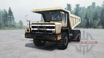 БелАЗ 540 v1.2 для MudRunner