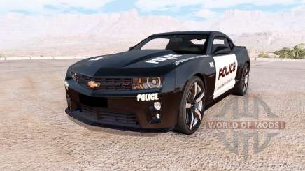 Chevrolet Camaro ZL1 Police для BeamNG Drive