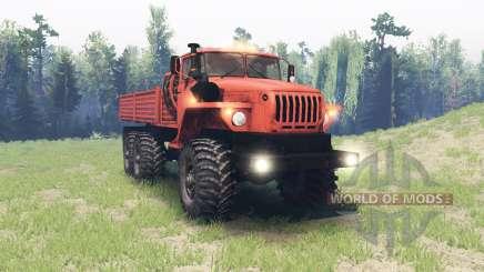 Урал 4320-41 для Spin Tires