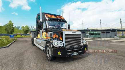 Freightliner Coronado v2.1 для Euro Truck Simulator 2