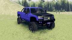 Chevrolet Silverado Extended Cab 2006 v2.2 для Spin Tires