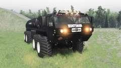 Oshkosh HEMTT M977 Huntsman v2.1 для Spin Tires