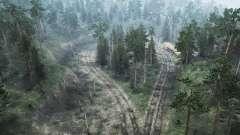 Обильный лес для MudRunner