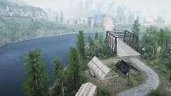 Туда. где разводят мосты для MudRunner