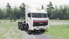 КамАЗ 54115 для Spin Tires