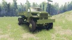 Chevrolet G-506 1942 для Spin Tires