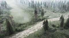 Аннинский лес для MudRunner