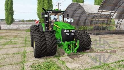 John Deere 7830 v1.2 для Farming Simulator 2017