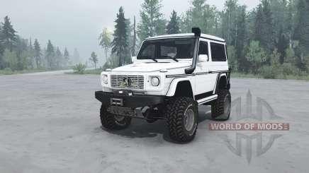 Mercedes-Benz G 500 SWB (W463) v1.1 для MudRunner