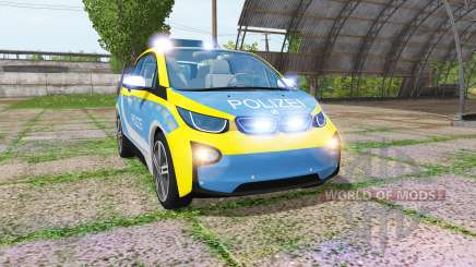 BMW i3 (I01) autobahnplizei для Farming Simulator 2017
