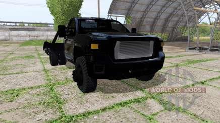 GMC Sierra tow truck для Farming Simulator 2017