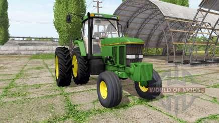 John Deere 7800 american v1.1 для Farming Simulator 2017