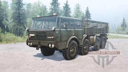 Tatra T813 для MudRunner
