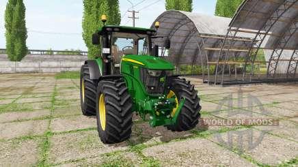 John Deere 6250R для Farming Simulator 2017