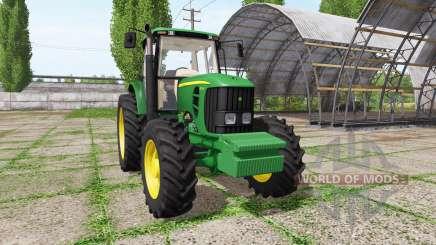 John Deere 6165J для Farming Simulator 2017