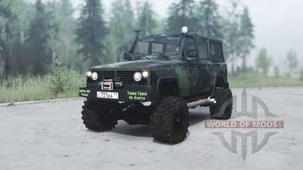 УАЗ 3172 разведчик для MudRunner