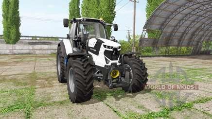 Deutz-Fahr Agrotron 6175 TTV white edition для Farming Simulator 2017