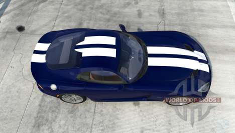Dodge SRT Viper GTS 2013 для BeamNG Drive