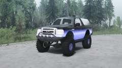 Ford Excursion для MudRunner
