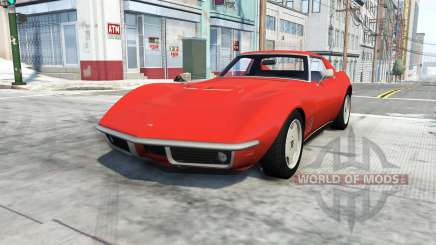 Chevrolet Corvette Stingray 1969 для BeamNG Drive