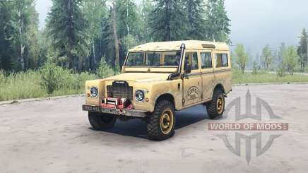 Land Rover Defender Series III для MudRunner